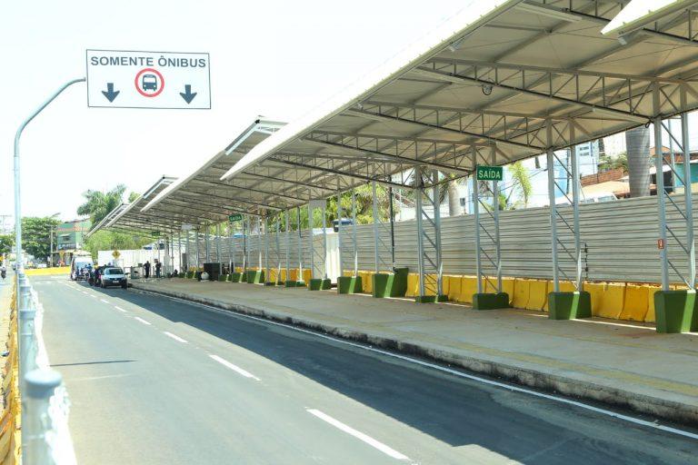 terminal provisório começa operar domingo