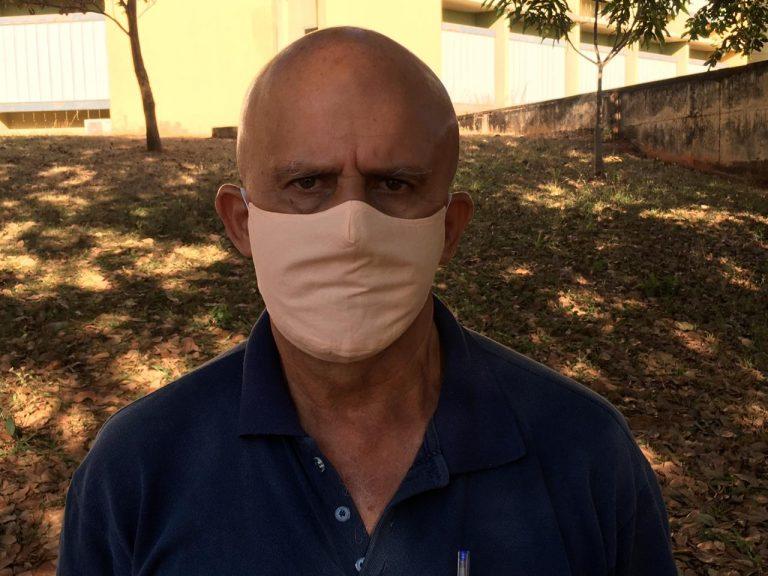 José Antônio Celestino, motorista, infectado pelo novo coronavírus, acredita que atendimento recebido da Secretaria de Saúde de Goiânia salvou sua vida