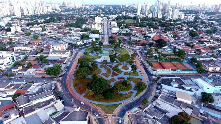 Praça do Cruzeiro ( aérea)- Goiânia - Jackson Rodrigues
