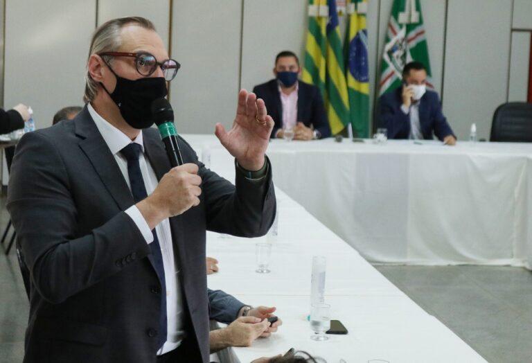 Secretário de Saúde de Goiânia, Durval Pedroso |Foto: Renato Conde