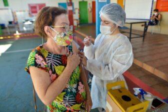 Vacinação contra a Covid-19 - Foto: Jucimar Sousa